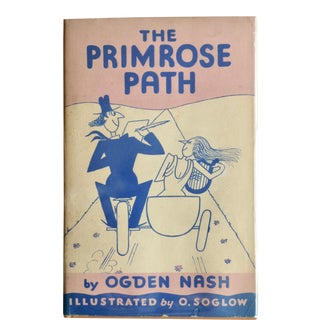 1935 Ogden Nash's the Primrose Path Book For Sale