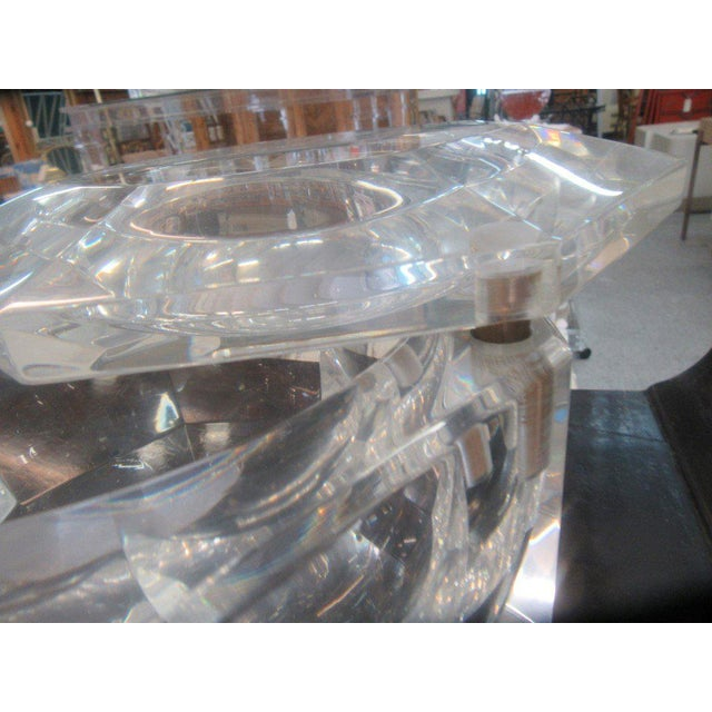Mid-Century Lucite Ice Bucket - Image 3 of 8