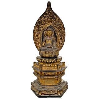 Edo Period Japanese Bodhisattva Shrine For Sale