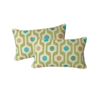 Mid-Century Modern Accent Pillow — Pair For Sale