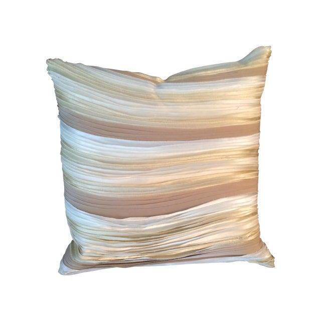 Aviva Stanoff Design Silk Layers Pillow - Image 1 of 4