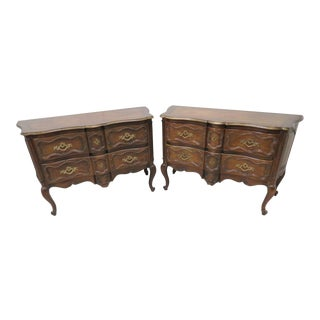 Baker Collectors Edition Louis XV Commodes - A Pair