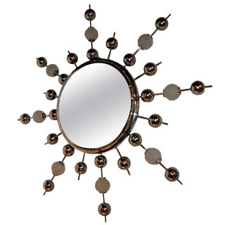 Illuminated Italian Mirror For Sale