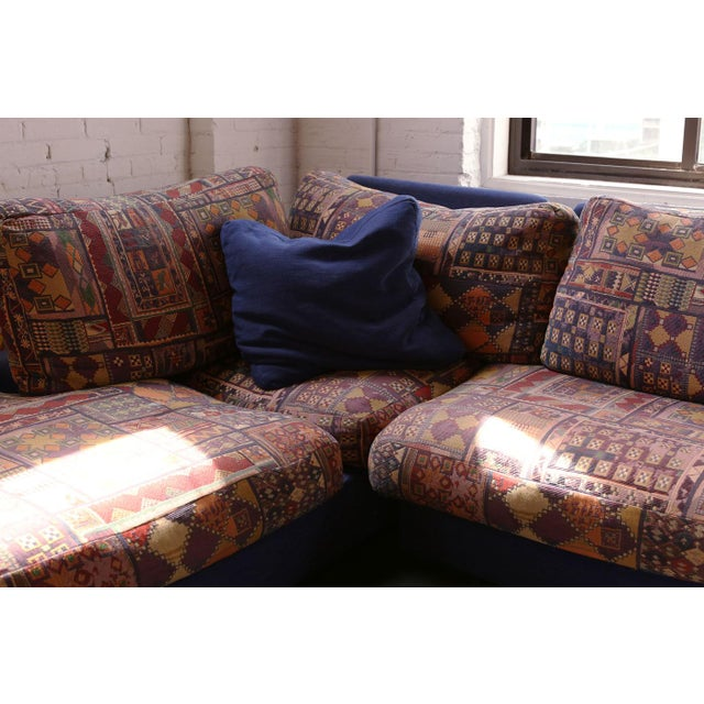 French Roche Bobois Vintage Sectional Sofa For Sale - Image 3 of 6