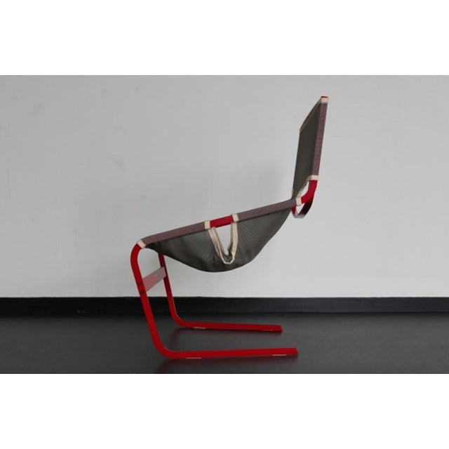 1960s Highly rare Artifort F444 Chair by Pierre Paulin For Sale - Image 5 of 9