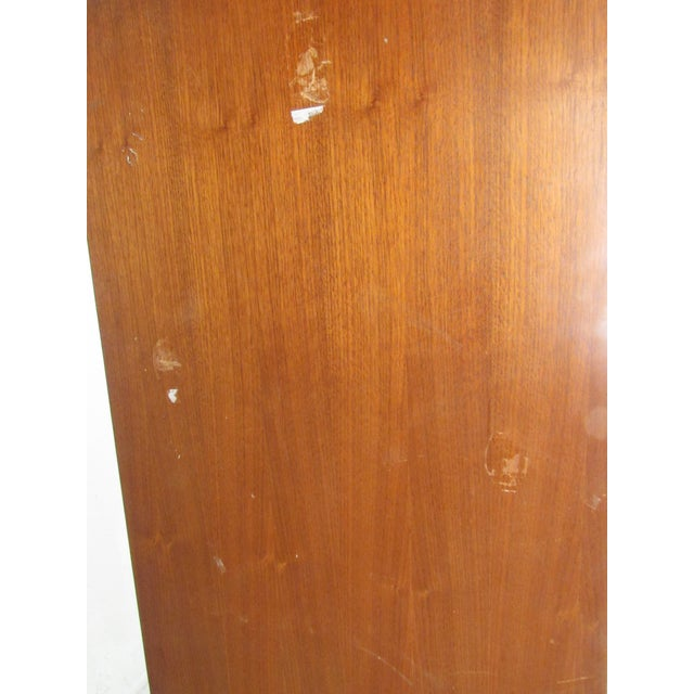 Brown Impressive Mid-Century Modern Walnut Armoire For Sale - Image 8 of 12