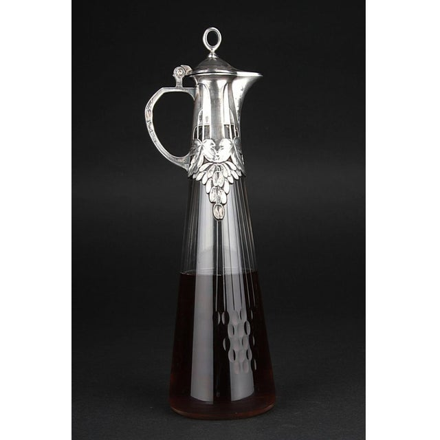 Early 20th Century Art Nouveau jug from WMF, 1900s For Sale - Image 5 of 7