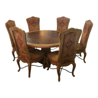Traditional Century Furniture Dining Set - 7 Pieces For Sale