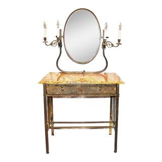 French Brass Vanity