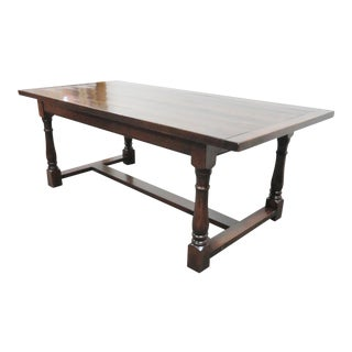 Old Colony Furniture English Oak Farm Table For Sale