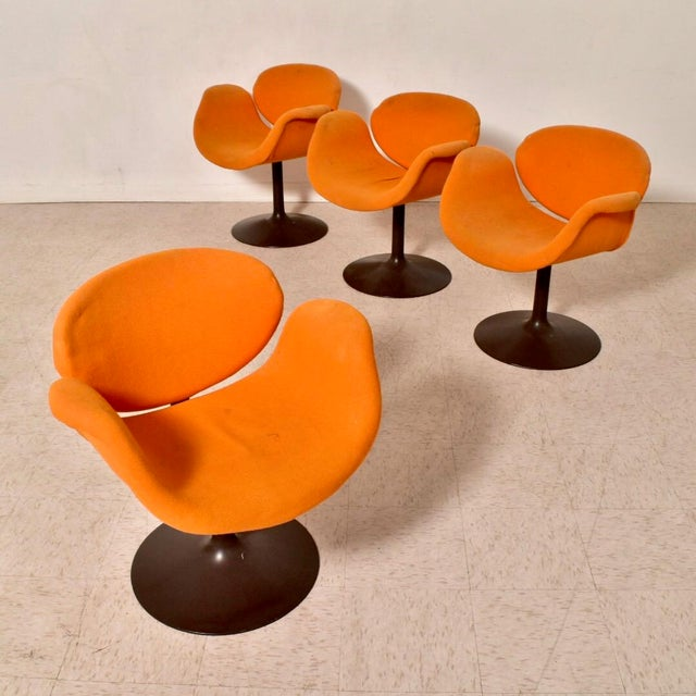 Vintage Artifort Tulip Chair by Pierre Paulin For Sale In Los Angeles - Image 6 of 7