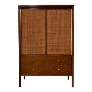 Paul McCobb Walnut Gentleman's Chest For Sale