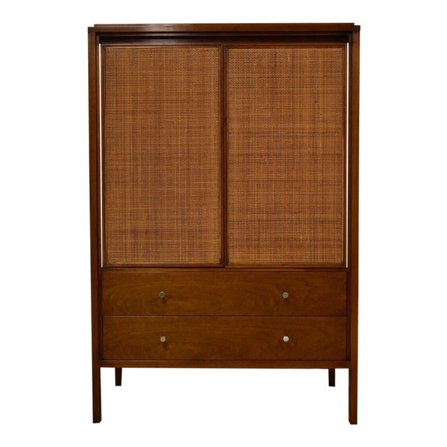 Paul McCobb Walnut Gentleman's Chest - Image 1 of 11