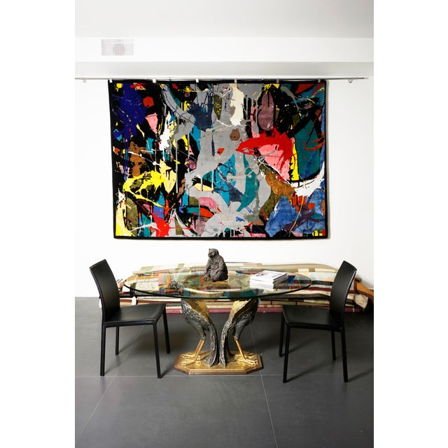 """Boccara limited edition hand knotted Artistic rug - """"Street Art"""" Dimensions: 300 x 200 cm; 9.84 x 6.6 ft 8 editions in..."""