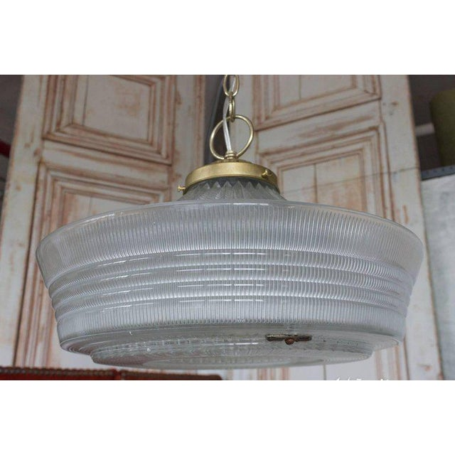 Vintage Hanging Glass Light, 20th Century - Image 4 of 11
