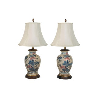Pair of Asian-Style Lamps by Frederick Cooper