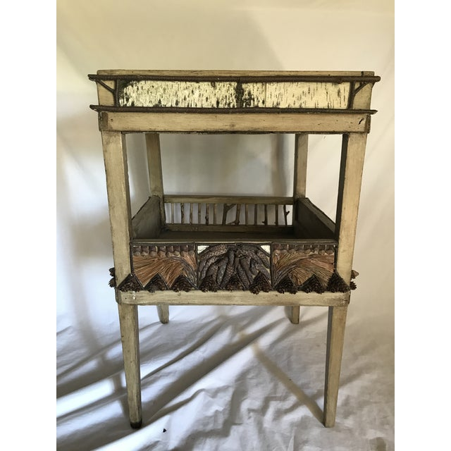 Adirondack Plant Stand or Side Table For Sale - Image 13 of 13