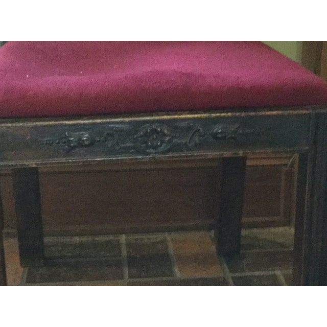 Textile Scottish Farthingale Chairs- 2 For Sale - Image 7 of 10