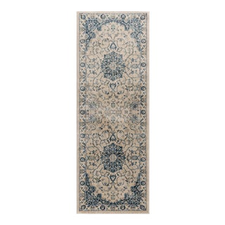 Journey Karina Traditional Medallion Cream Runner Rug - 2' x 8'