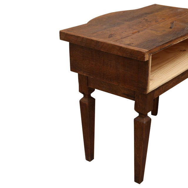 Brown French Walnut Vanity Table For Sale - Image 8 of 8