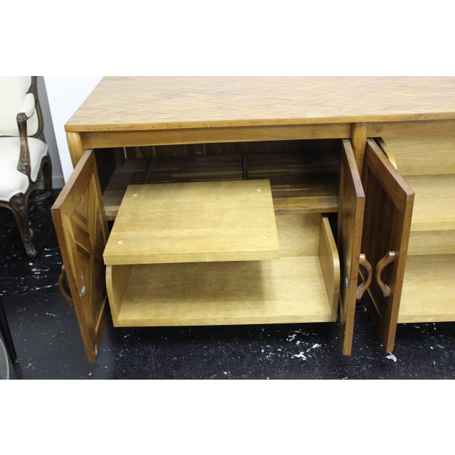 Brown Don Shoemaker Credenza For Sale - Image 8 of 11