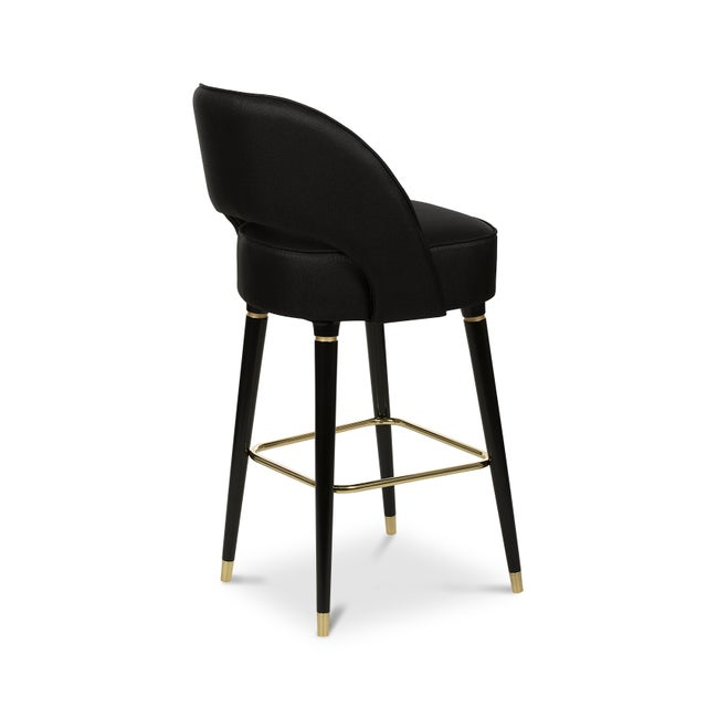 Mid-Century Modern Covet Paris Collins Bar Chair For Sale - Image 3 of 6