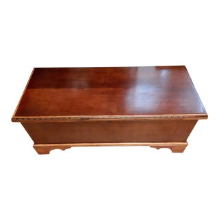 1940s Mid-Century Modern Caswell Runyan Cedar Chest For Sale
