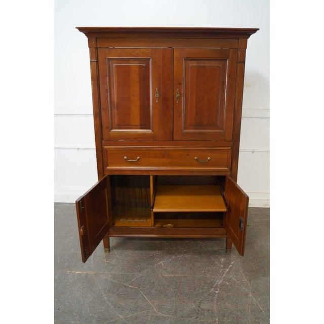 Grange French Directoire Style TV Armoire - Image 6 of 10