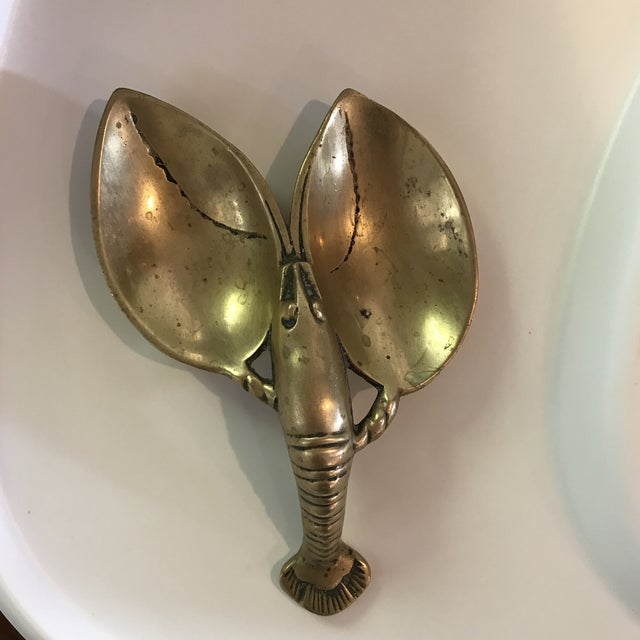 Vintage Brass Lobster - Image 3 of 7