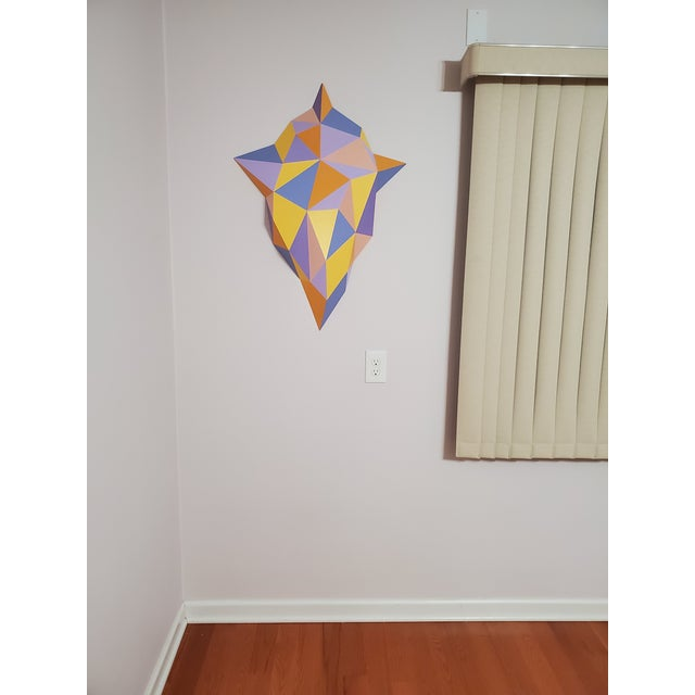 Wood Abstract Sassoon Kosian Vision From Beyond Wall Sculpture For Sale - Image 7 of 7
