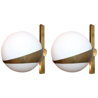 Mid Century Modern Style Sconces-A Pair For Sale