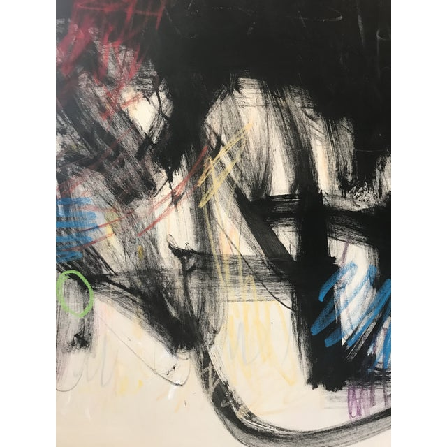 """Contemporary Abstract Painting """"Musings on the Situation"""" by Sarah Trundle For Sale - Image 6 of 8"""