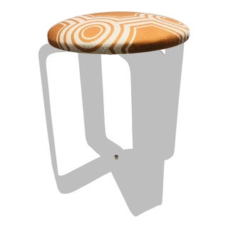 1970s Vintage Lucite Vanity Stool For Sale