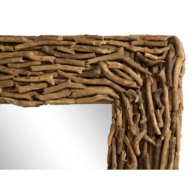 Driftwood Mirror Imported From England For Sale