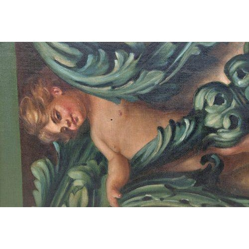 "Traditional ""Study for a Frieze"" Oil Painting For Sale - Image 3 of 6"