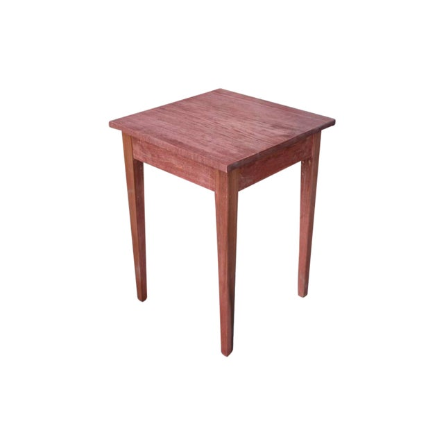 Shaker Sedona Poplar Side Table - Image 1 of 5