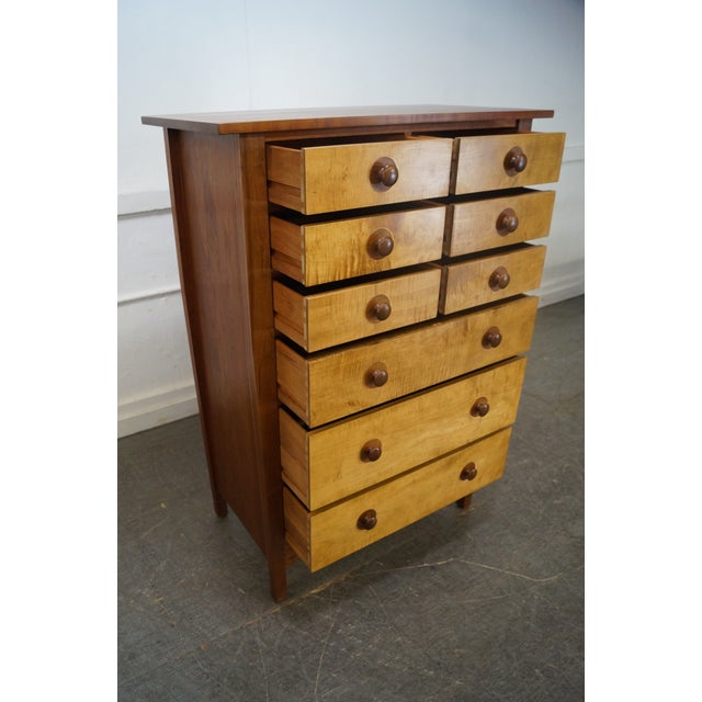 Stickley Mission Oak Collection Harvey Ellis Tall Chest - Image 7 of 10