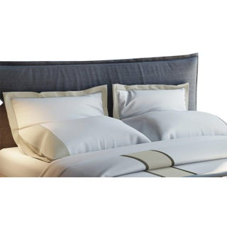 Monte Carlo Banded Pillowcases King - Pumice Preview