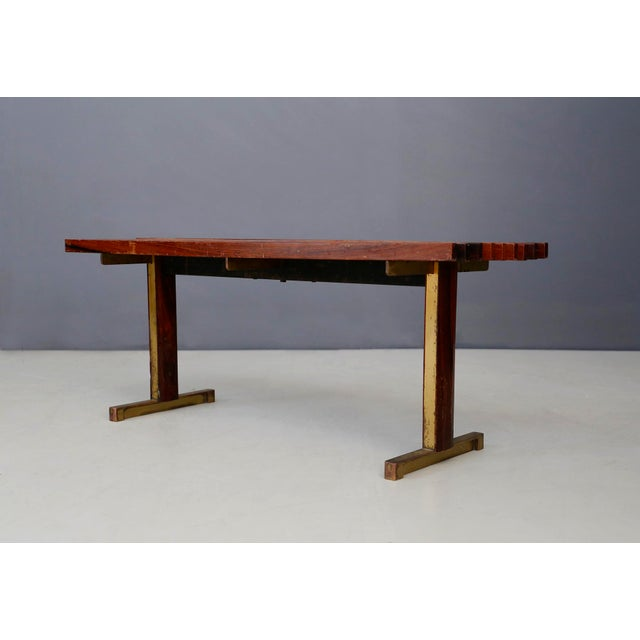 Rare bench by Carlo Graffi made in 1950. The bench is in good vintage condition but has slight scratches due to age and...
