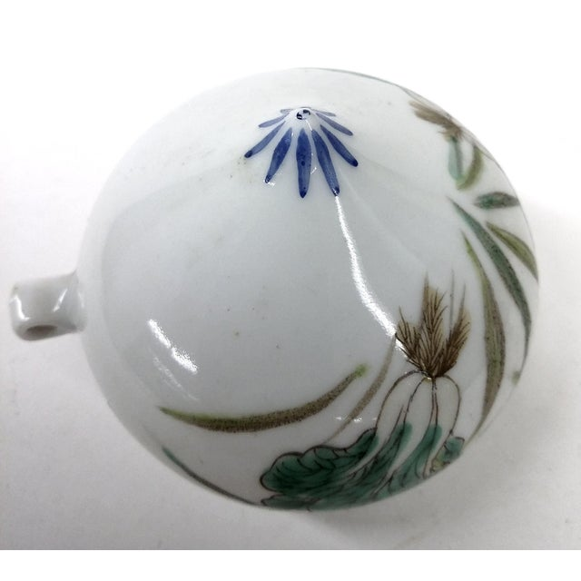 Antique Chinese Porcelain Bird Feeder For Sale In Boston - Image 6 of 8
