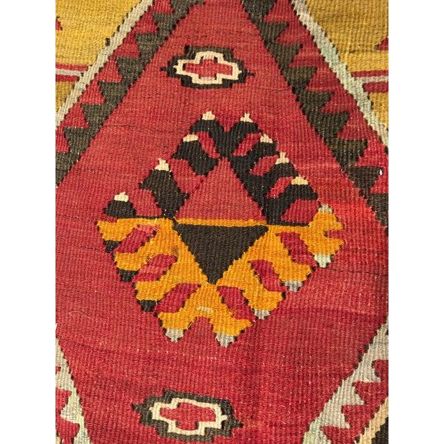 """Bellwether Rugs Vintage Turkish Kilim Rug - 8'8"""" x 11'2"""" - Image 7 of 9"""