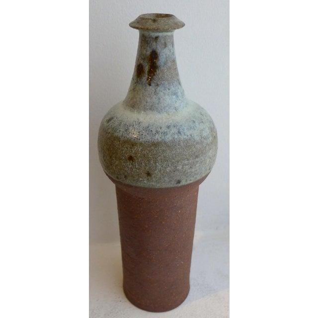 Mid-Century Modern Ceramic Vase by Finn Lynggaard For Sale - Image 3 of 7