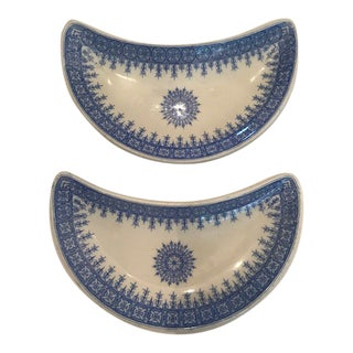 1920's Vintage Royal Worcester Side Plates - a Pair For Sale