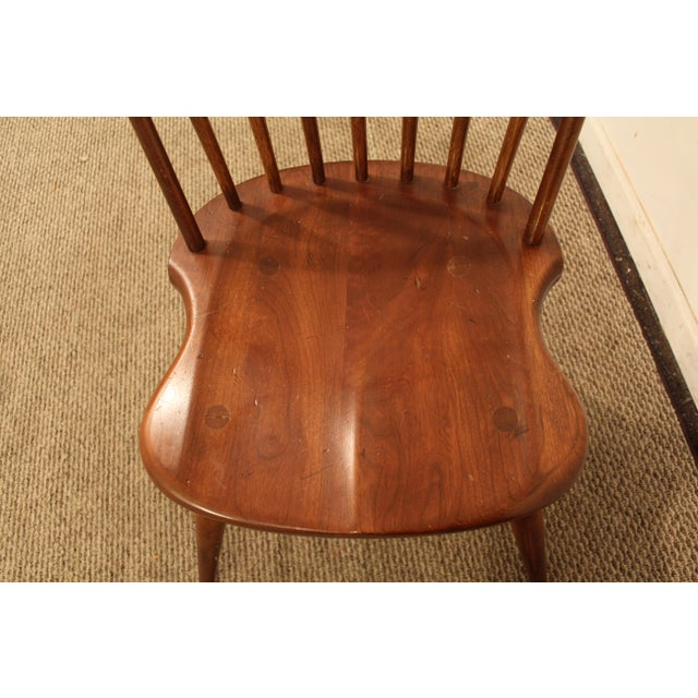 Duckloe Bros Cherry Hoop-Back Windsor Side Chairs - a Pair For Sale In Philadelphia - Image 6 of 11