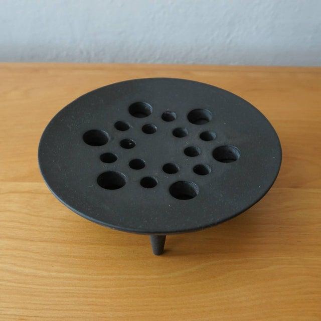 Dansk Jens Quistgaard Iron Candleholder in Original Box For Sale - Image 4 of 7