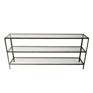 Mesco Iron Long Console Table For Sale