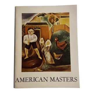 1970 'American Masters' Gallery Collection of Important Paintings and Sculptures Book by Bernard Danenberg Galleries For Sale