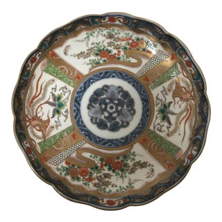 Antique Japanese Imari Plate For Sale