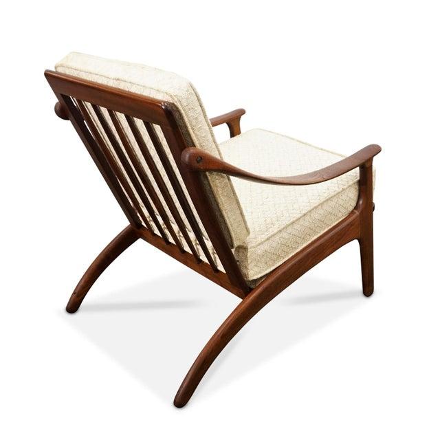 Wood Arne Hovmand Olsen Chair by Mogens Kold For Sale - Image 7 of 8