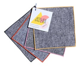 Image of Charcoal Table Linens
